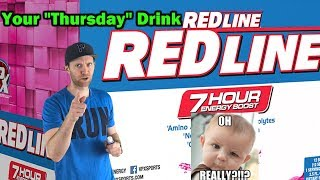 """A 7 hour energy drink? aka your """"Thursday"""" drink   VPX redline review"""