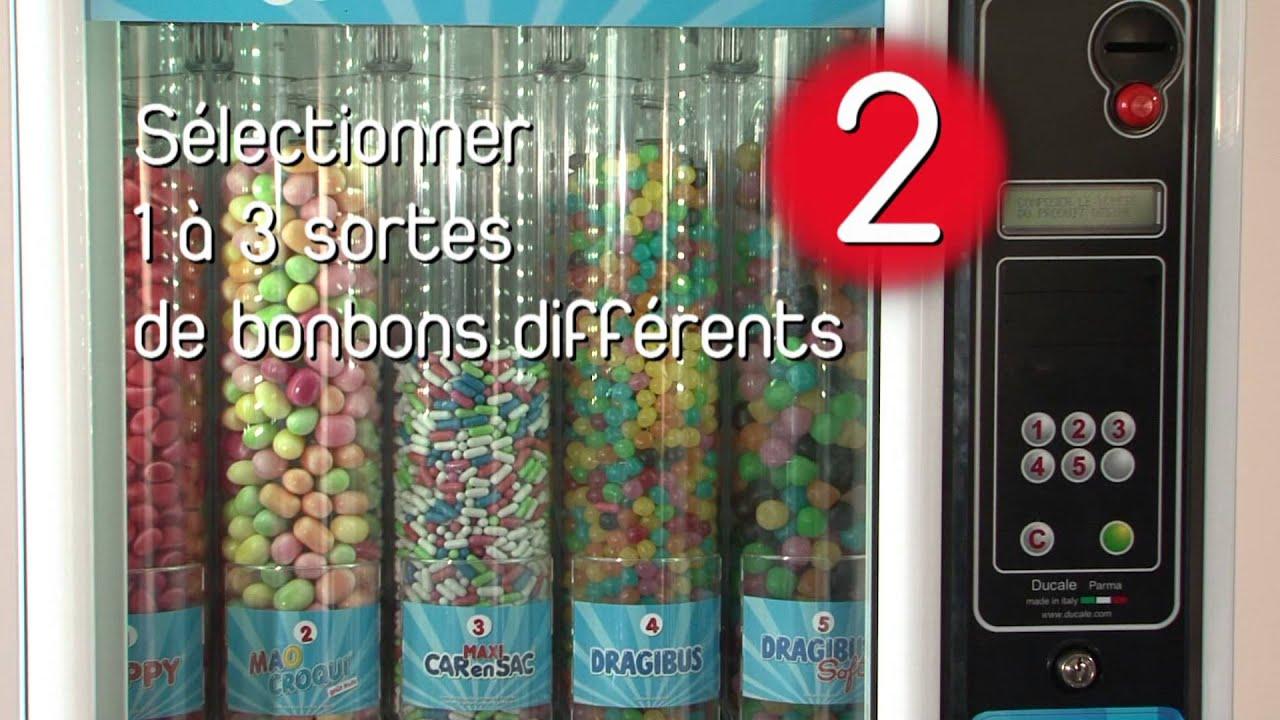 Slg distributeur de bonbons haribo youtube - Distributeur de bonbons professionnel ...
