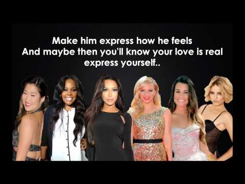 Glee cast- Express yourself Lyrics