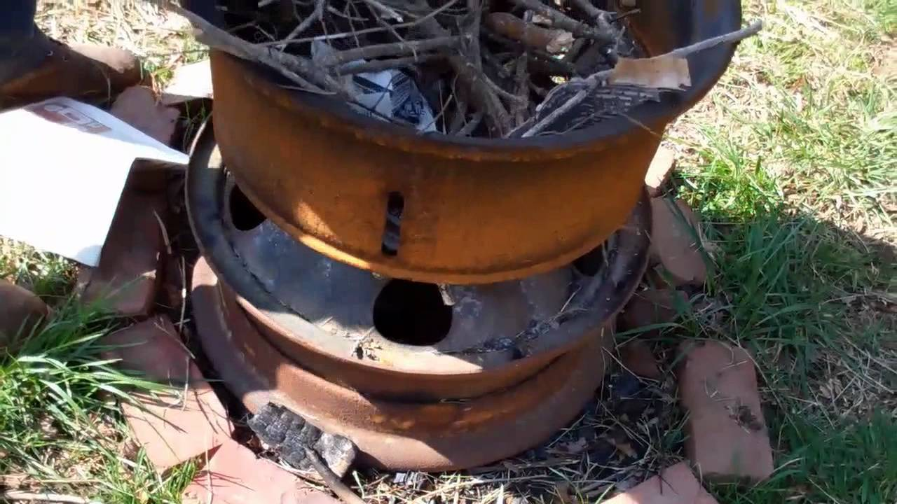 Charming Fire Pit Youtube Part - 13: Rim Fire Pit - YouTube