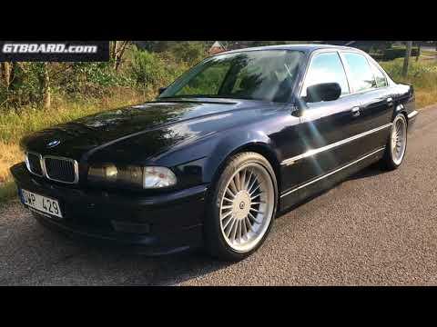 Nachtblau BMW Alpina B12 5.7 Limousine For Sale Originally Sold As New In Sweden