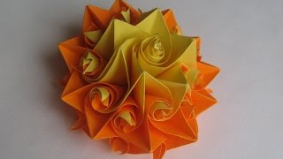 СУПЕР-ЛЕГКО Из Бумаги Сделать Цветок Розу origami Curler. Подарок Маме Своими Руками.