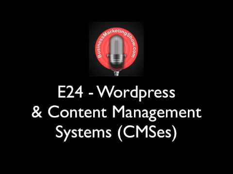 BMS24 - Wordpress & Content Management Systems CMS