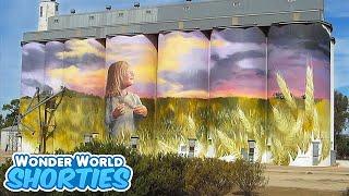 SHORTIES #6 - Painted Grain Silos