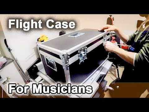 Building a Flight Case for a Musician