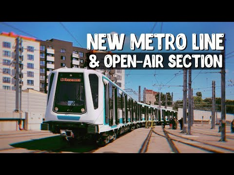 A NEW METRO LINE IN SOFIA and an Open-Air Section