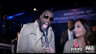 DEONTAY WILDER HAS A LAUGH @ TYSON FURY POSTS: