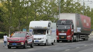 China launches first automatic driving testing site