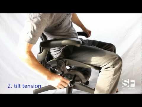 SmartFurniture.com Aeron Chair Adjustment Guide