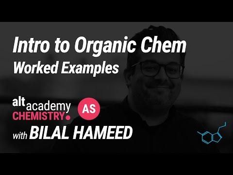 Intro to Organic: Worked Examples | AS Chem
