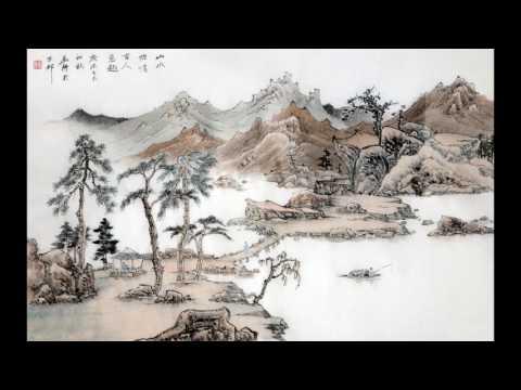 Fisherman's Song Guqin Set To Shan Shui
