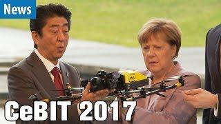 CeBIT 2017: Eröffnung und Messerundgang mit der Kanzlerin | deutsch / german
