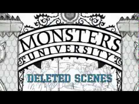 MU Bonus Features (Blu-Ray)- Deleted Scenes