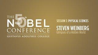 Steven Weinberg at Nobel Conference 50