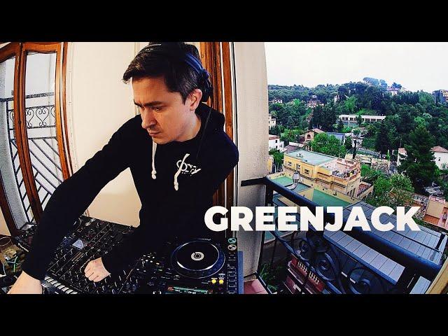 Greenjack - Live @ Radio Intense Barcelona 24.04.2020 // Techno mix