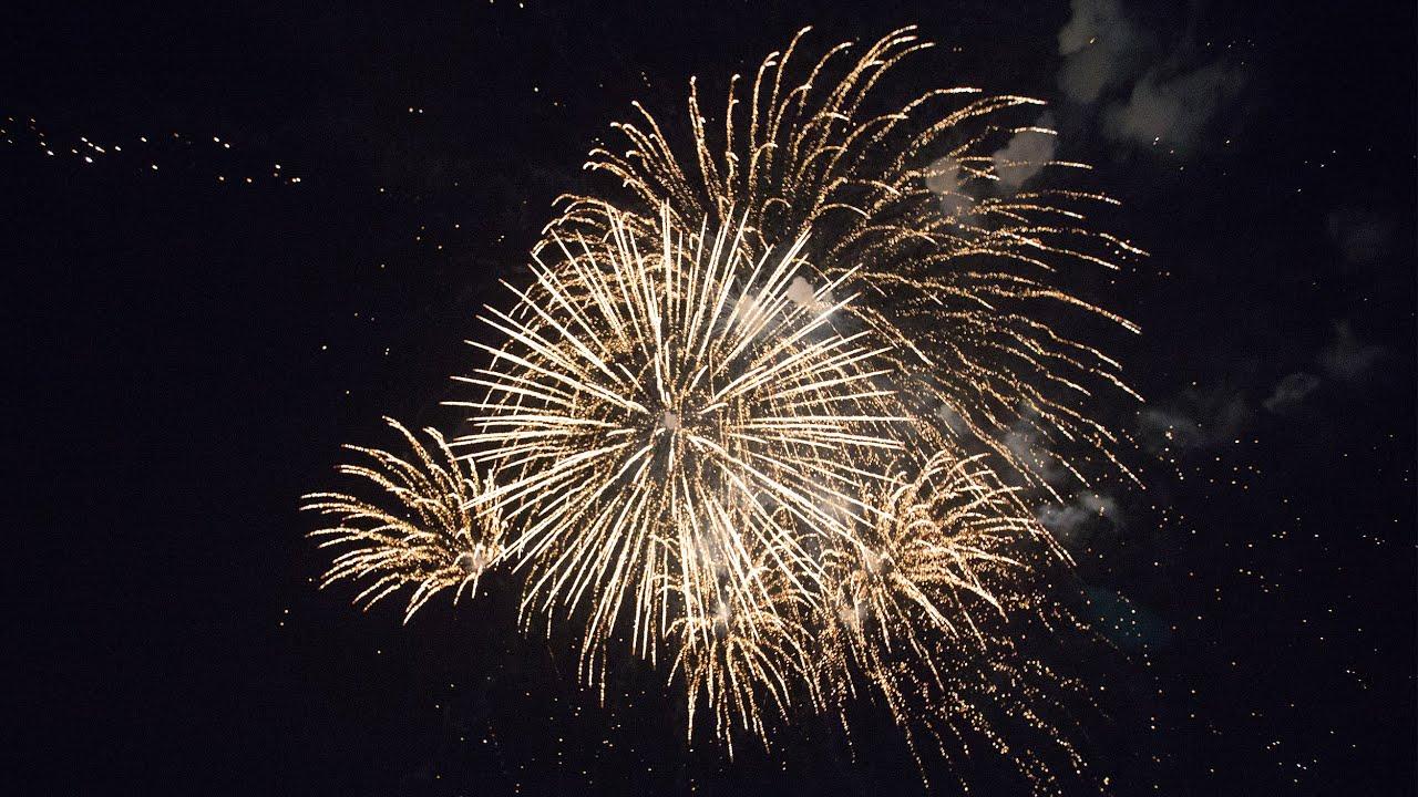 праздничный фейерверк в Челябинске
