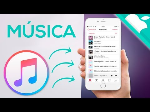 PASAR MUSICA AL IPHONE 2017