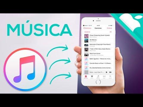 PASAR MUSICA AL IPHONE 2018