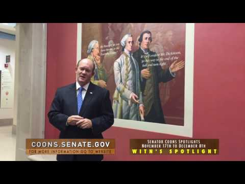 Senator Chris Coons - Spotlight