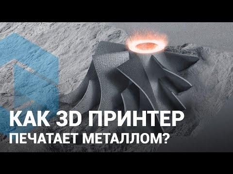 3D печать металлом в Украине: Как печатает 3D принтер металлом в Киеве и Харькове