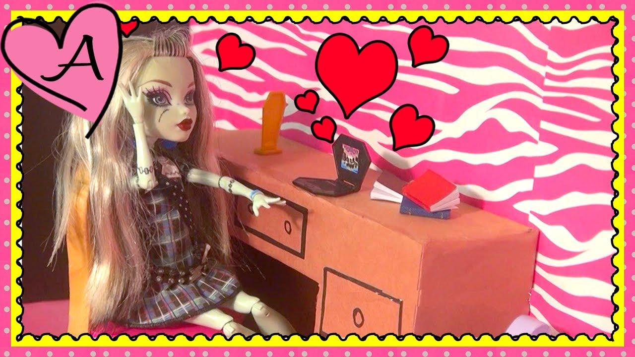 Juguetes y muñecas de MONSTER HIGH en español Frankie se enamora de ...