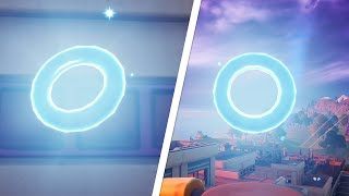 Collect Floating Rings at Steamy Stacks All Locations - Fortnite
