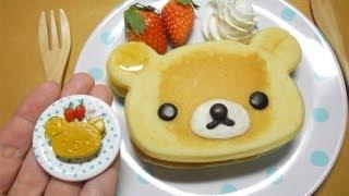 Real figure① ミニチュア実体化 「リラックマホットケーキ」 thumbnail
