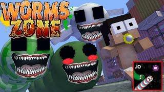Monster School : BABY WORMS ZONE IO CHALLENGE - Minecraft Animation