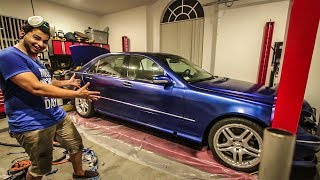I Plastidipped My Cheap Mercedes S-Class And It Looks Awesome! - Project Mercedes-Benz S-Class Pt 18