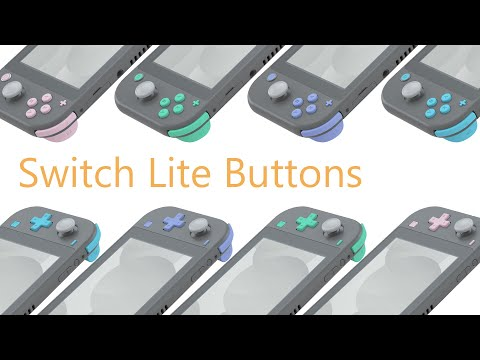 Nintendo Switch Lite Replacement Buttons Installation Guide - eXtremeRate