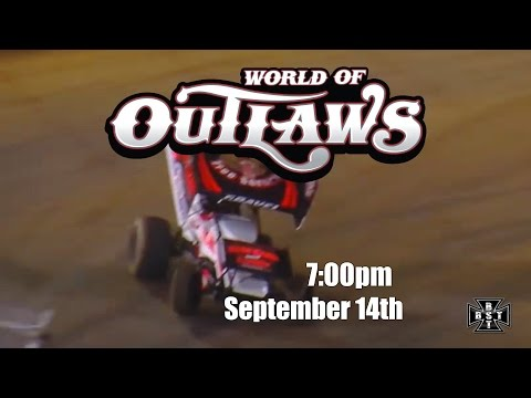 WORLD OF OUTLAWS at EL Paso County Raceway!!! Sept.14th 7pm - Teaser BST Racing