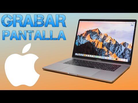 Como grabar la pantalla de tu Mac (con Quicktime) (sin instalar programas)