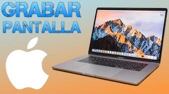 Cómo grabar la pantalla de tu Mac (GRATIS y SIN INSTALAR PROGRAMAS)