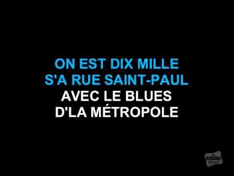 Beau Dommage - Le Blues d'la Métropole (Karaoke)
