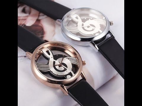 Popular and Charming Musical Note quartz Wrist Watch