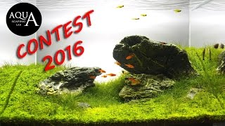 Aquascaping Photo Contest 2016