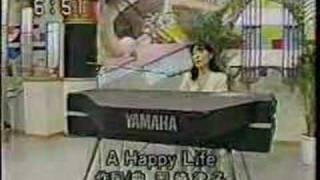 1996年TX系放送『モーニングJAM』への生出演。 彼女の、生前唯一の地...