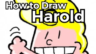 How to Draw Harold (from Captain Underpants)