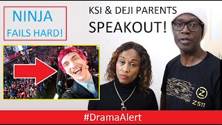 DEJI & KSI Parents try & stop the HATE! #DramaAlert NINJA big FAIL! Jojo Siwa vs Justin Bieber!