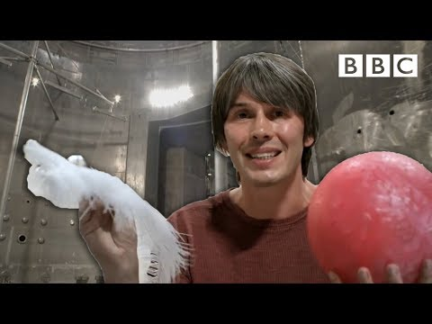 Brian Cox visits the world's biggest vacuum chamber - Human