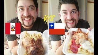 POLLO A LAS BRASAS PERUANO VS POLLO A LAS BRASAS CHILENO ¿CUAL ES EL Mejor? LEER DESCRIPCION VIDEO