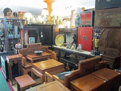 Golden Lotus Antiques store tour 8