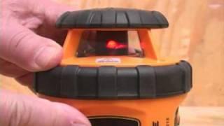 Johnson Self-Leveling Rotary 800 Laser Level