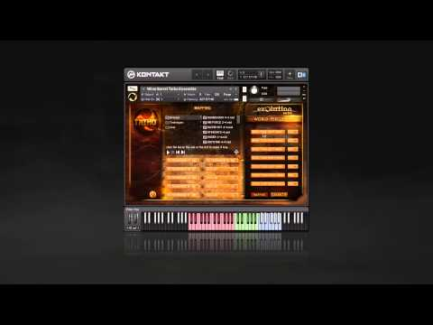 Evolution Series Taiko Interface Overview