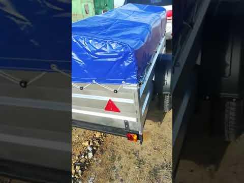 Отзыв как купил прицеп Титан с доставкой в Казахстан