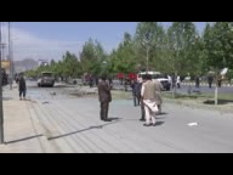 Afghan officials: bus bombing in capital kills 5