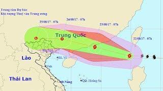 Tin Tức 24h Mới Nhất Hôm Nay : Tin bão trên Biển Đông - cơn bão số 6