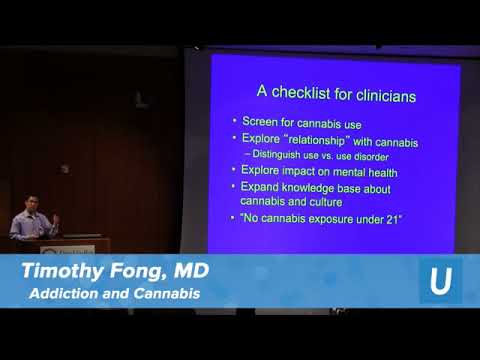 Addiction & Cannabis - Timothy Fong, MD | UCLA Health Cannabis Research Initiative