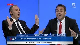 Debat i nxehte mes Armend Mujes dhe Fatmir Limaj
