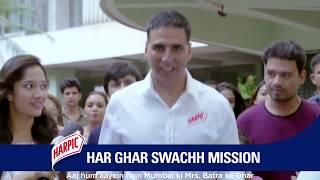 Harpic 10/10 - Mission Har Ghar Swachh with Akshay Kumar